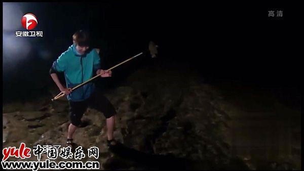 我们的征途杜海涛刘也海绵宝宝组合连钓大鱼满载而归